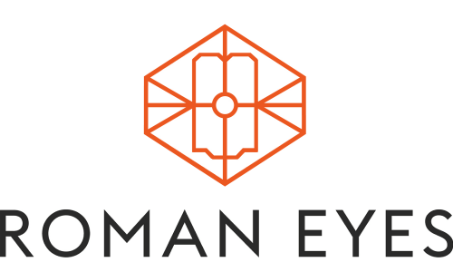 Das Logo von Roman Eyes in Nymphenburg